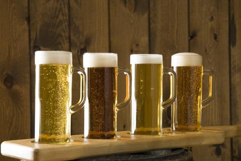 la bière de micro-brasserie